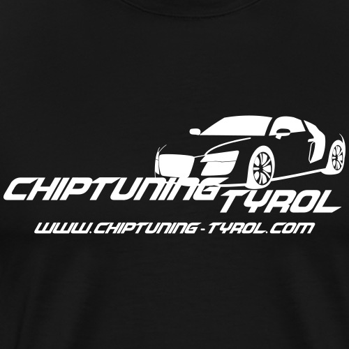 Chiptuning Tyrol com Logo 4x - Männer Premium T-Shirt