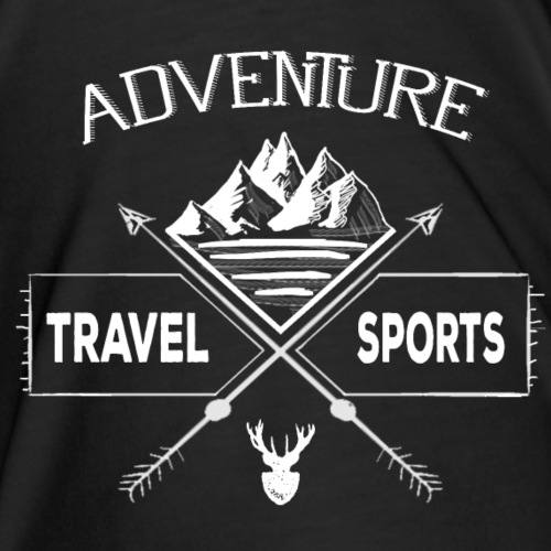 Travel sports adventure - Herre premium T-shirt