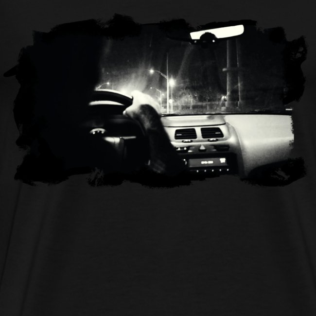 Driving at Night (with white PS logo on shoulder)