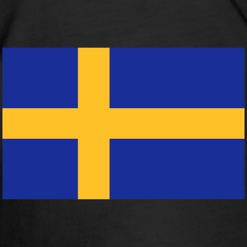 Svenska flaggan - Premium-T-shirt herr