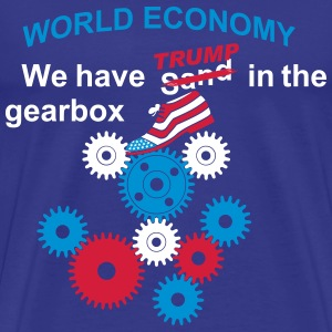 We have sand in TRUMP gearbox english - Men's Premium T-Shirt