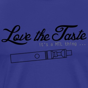 Love the Taste - MTL Motif - Men's Premium T-Shirt