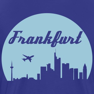 Frankfurt skyline - Men's Premium T-Shirt