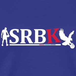 Serbian LOGOBasket-Ball (Latin) - Men's Premium T-Shirt