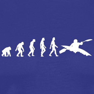 The Evolution Of Kayaking - Men's Premium T-Shirt