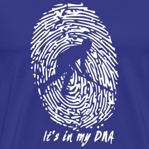 Hockey: Det er i mit DNA - Herre premium T-shirt