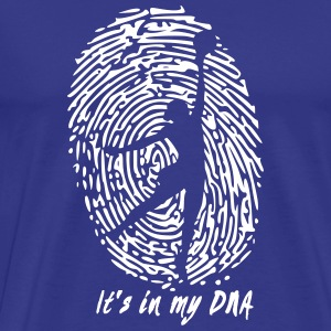 Volleyball: Det er i mit DNA - Herre premium T-shirt