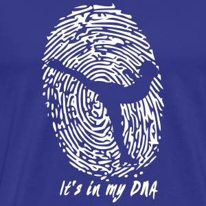 Figure skating is part of my DNA - Men's Premium T-Shirt