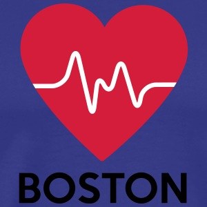 coeur de Boston - T-shirt Premium Homme