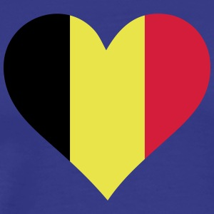 A Heart For Belgium - Men's Premium T-Shirt