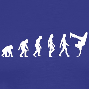 The Evolution Of Breakdancing - Men's Premium T-Shirt