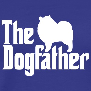 Keeshond Dogfather - Men's Premium T-Shirt