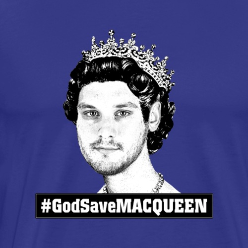 God Save MACQUEEN - Männer Premium T-Shirt