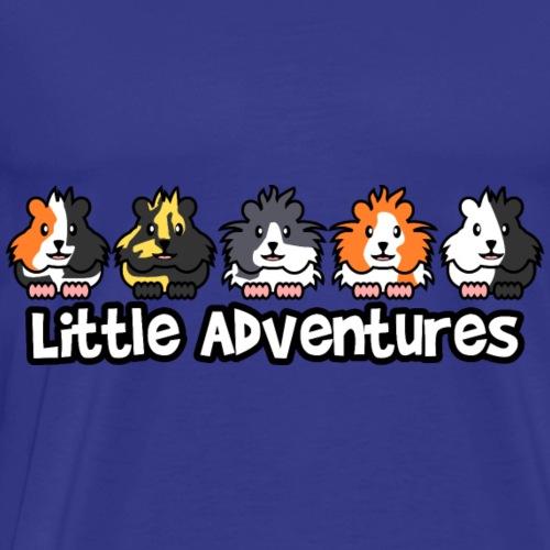 Little Adventures Meerschweinchen - Männer Premium T-Shirt