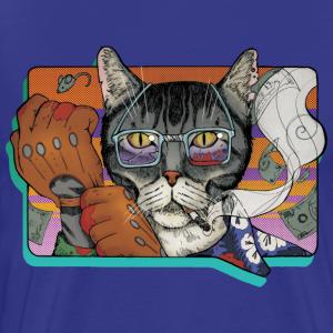 Crime Cat - Koszulka męska Premium