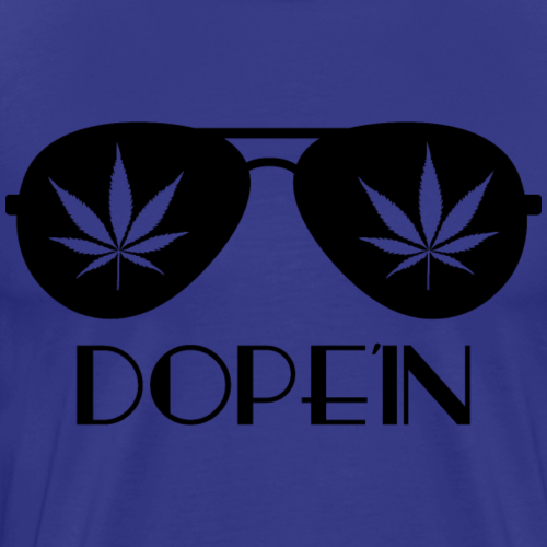 DOPEIN - Weed Sunglasses - Männer Premium T-Shirt
