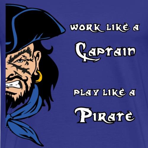 captain pirate - Maglietta Premium da uomo