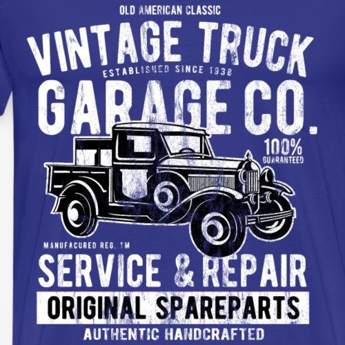 OLDTIMER TRUCK - Vintage Pick Up LKW Truck Shirt - Männer Premium T-Shirt
