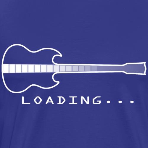 Legend Loading 01 (White) - Men's Premium T-Shirt