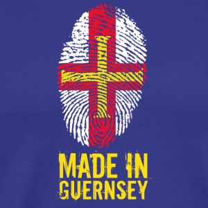 Made In Guernsey / Guernsey - Premium T-skjorte for menn