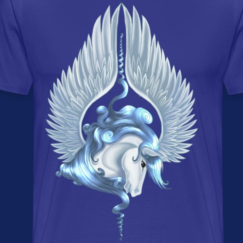 Pegasus 14 - Premium-T-shirt herr