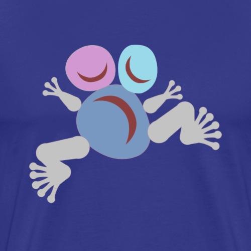 Frog blue Totem - T-shirt Premium Homme