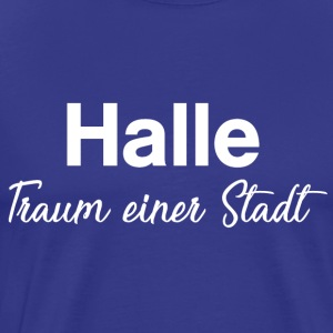 hall - Premium-T-shirt herr