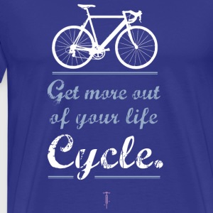 Bicycle motivation Sportbike road mountain bike bmx more - Men's Premium T-Shirt