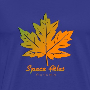 Space Atlas T-shirt Autumn Leaves - Premium-T-shirt herr