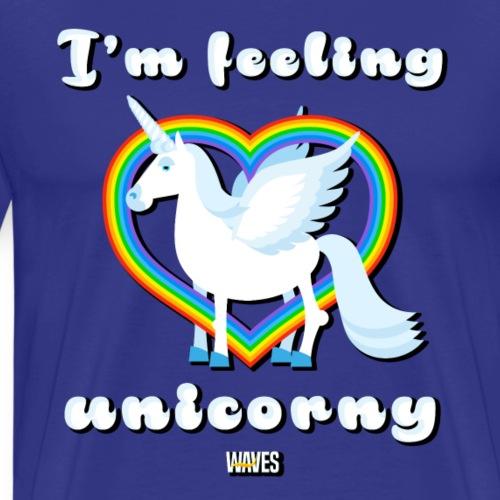 WAVES - Unicorn - Maglietta Premium da uomo