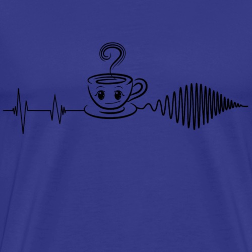 Ohne Kaffee geht es nicht :) - Männer Premium T-Shirt