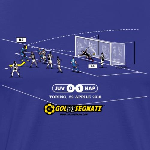 JUV-NAP 0-1 Il gol Di KK - Maglietta Premium da uomo