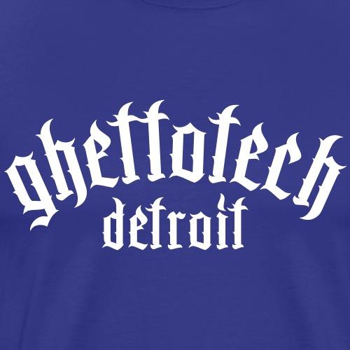 Gettotech Detroit - Men's Premium T-Shirt