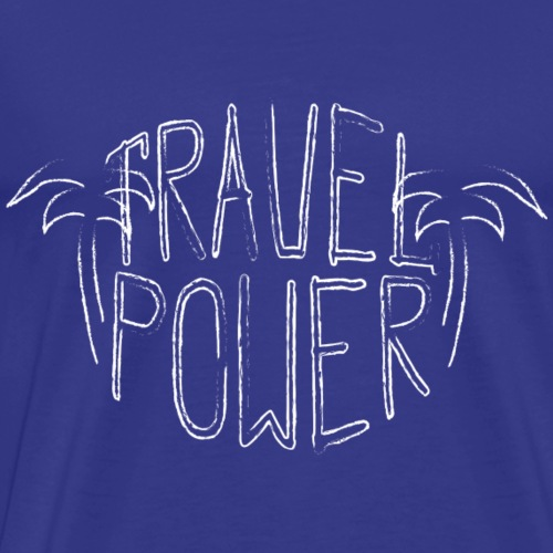 Travel Power - Männer Premium T-Shirt