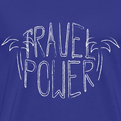 Travel Power - Männer Premium T-Shirt