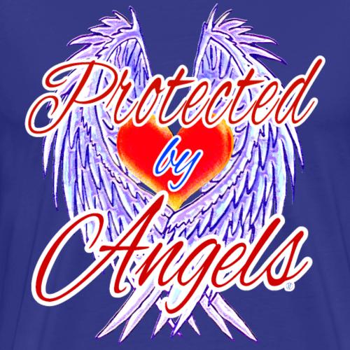 Protected by angels - Maglietta Premium da uomo