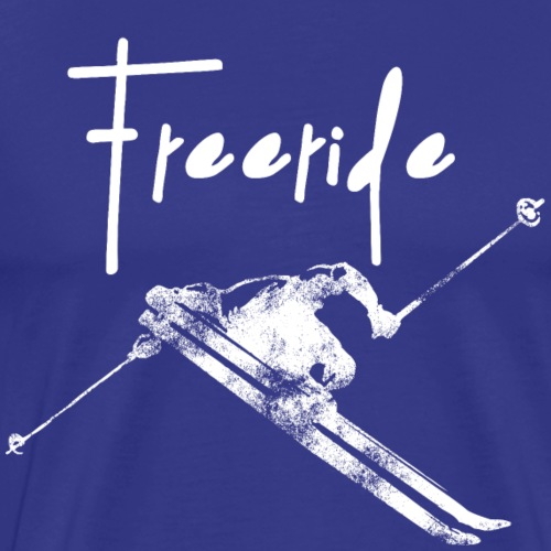 Sk Freeride - Männer Premium T-Shirt