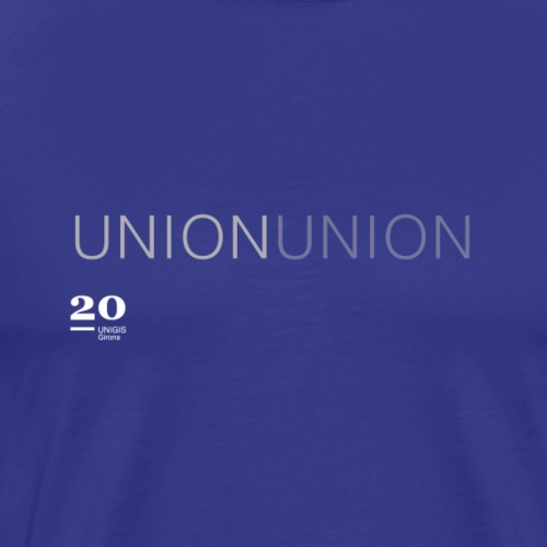 union - Camiseta premium hombre