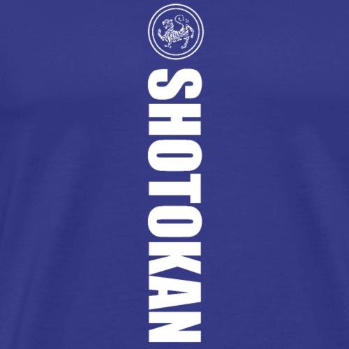 shotokan karate diseño tigre - Camiseta premium hombre
