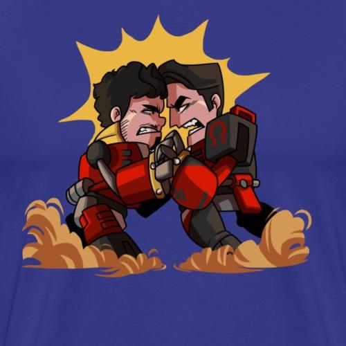 Gamma VS Omega - Camiseta premium hombre