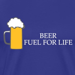Beer : Fuel for life. - T-shirt Premium Homme