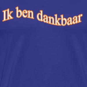 ikbendankbaar.nl - Men's Premium T-Shirt