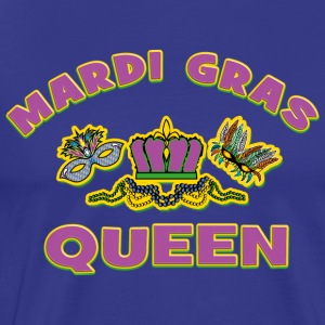 Mardi Gras Queen - Premium T-skjorte for menn