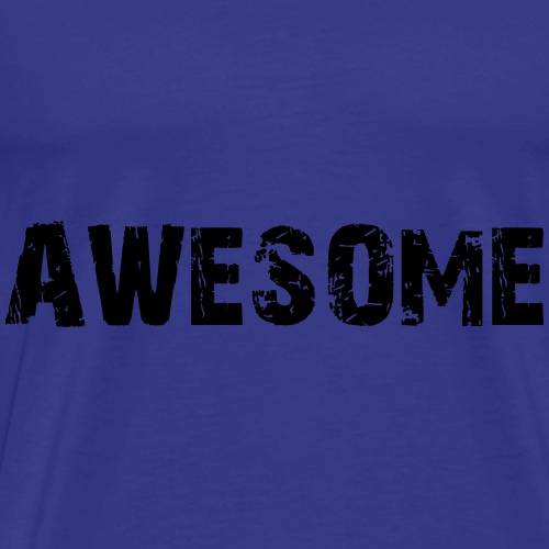Awesome - Männer Premium T-Shirt