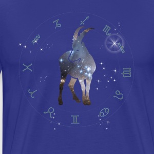 capricorn universe constellation astrology sternzeic - Men's Premium T-Shirt