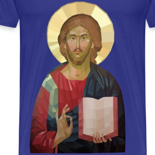 Abstract Jesus - Men's Premium T-Shirt