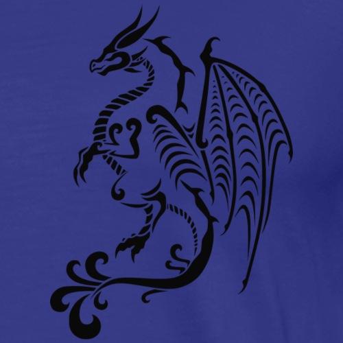 Drache stilisiert - Männer Premium T-Shirt