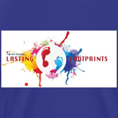 lasting footprints inkl PPP Alumni - Männer Premium T-Shirt