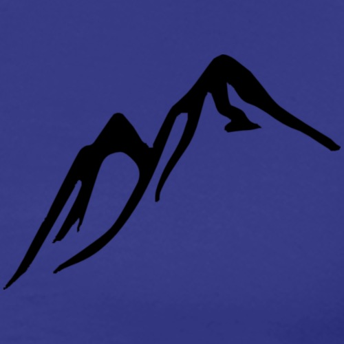 Berge - Männer Premium T-Shirt