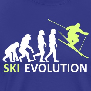 ++ ++ Ski Evolution - Premium-T-shirt herr